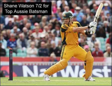 Cricket Shane Watson