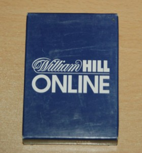 William Hill Casino Playing Cards