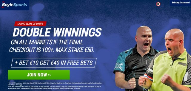 PDC Darts Double Winnings Betting Offer