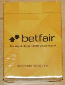Betfair Playing Cards