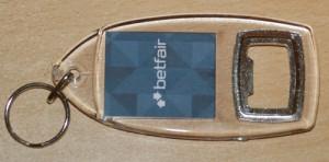 Betfair Keyring and Bottle Opener